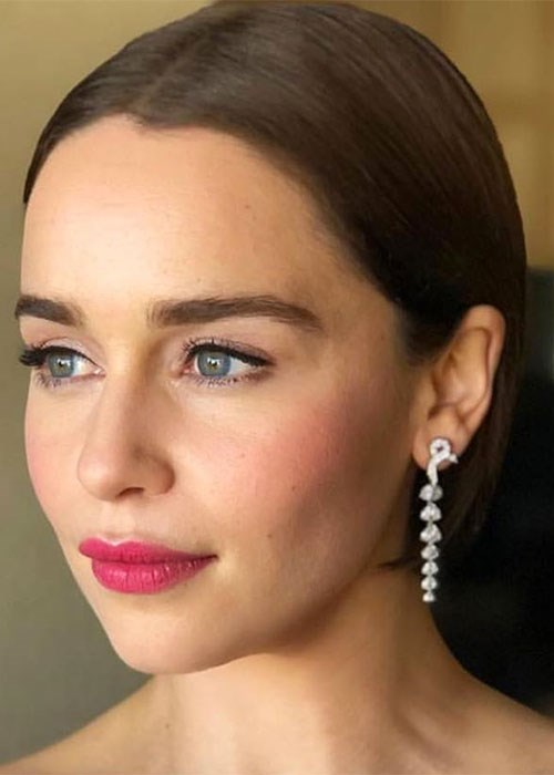 Your foolproof guide to blush - Emilia Clarke