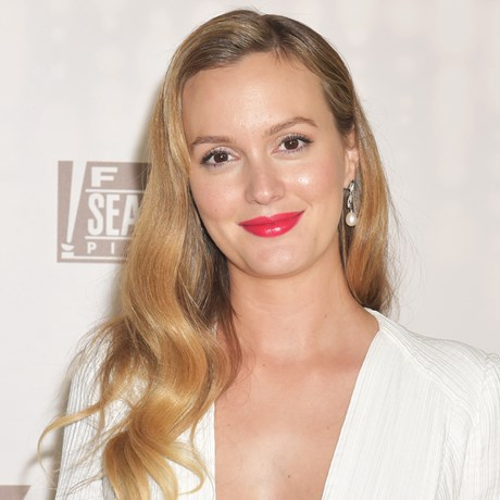 Leighton Meester Debuts The Wavy Caramel-Hued Bob Of Your Dreams