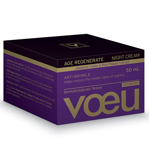 Voeu Age Regenerate Anti-Wrinkle Night Cream