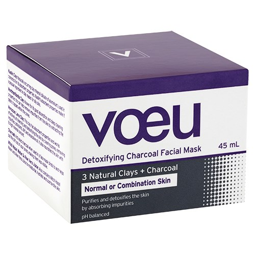 Voeu Charcoal Clay Mask