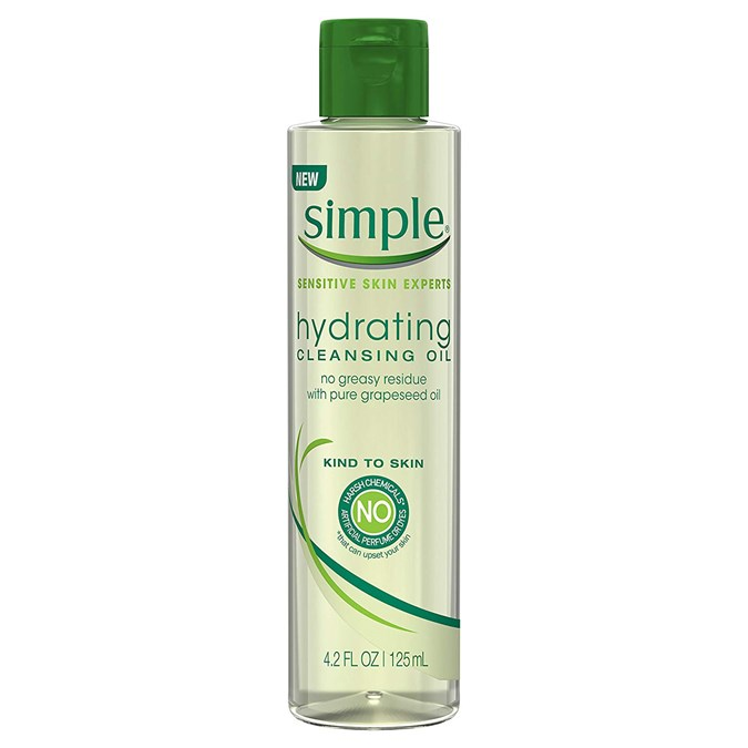 Simple Kind to Skin Cleansing Oil Hydrating