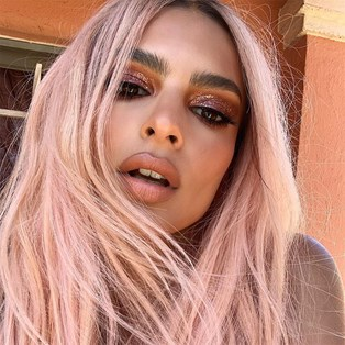 Rose Gold Hair Gallery - Emily Ratajkowski