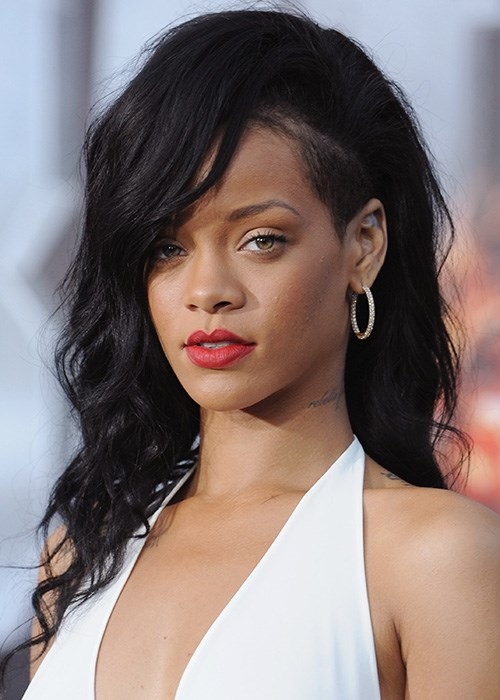 Rihanna Undercut