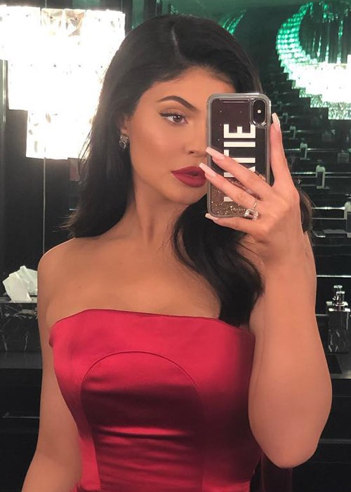 Kylie Jenner's New Drippy French Manicure