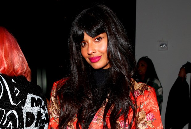 Celebs have been bringing their beauty A-game to New York Fashion Week Spring 2020 Jameela Jamil