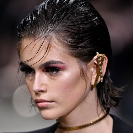 The Best Beauty Looks From Milan Fashion Week Spring 2020