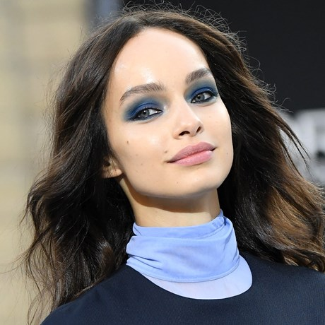 Paris Fashion Week Totally Changed Our Minds About Blue Eyeshadow