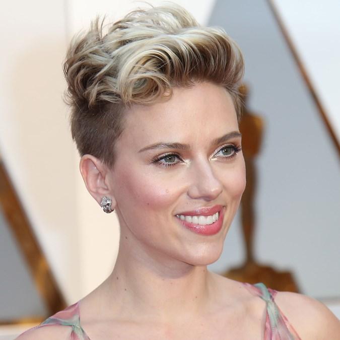 Scarlett Johansson Short Hair Bob Pixie Undercut More Beauty Crew