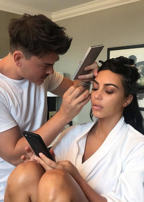 You Can Now Get A $400,000 Makeover With Kim Kardashian's Makeup Artist