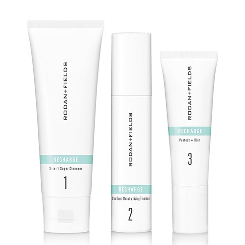 Rodan + Fields RECHARGE Regimen for Balancing, Boosting and Defending Healthy-Looking Skin