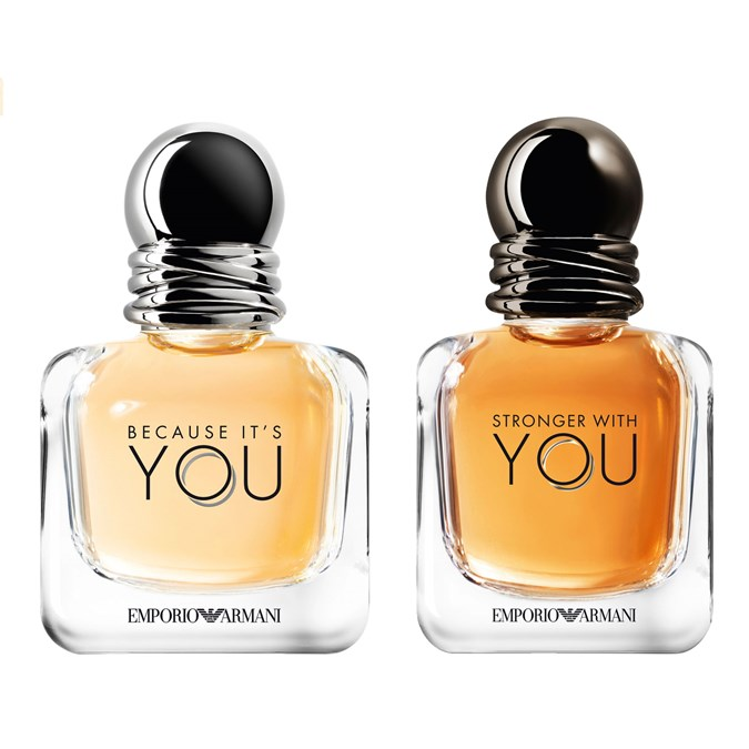 Emporio Armani Because It's You EDP and Stronger For You EDT