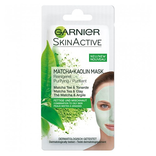 Garnier Matcha Tea Kaolin Mask