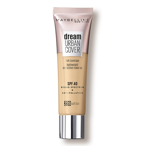 Maybelline New York Dream Urban Cover Liquid Foundation