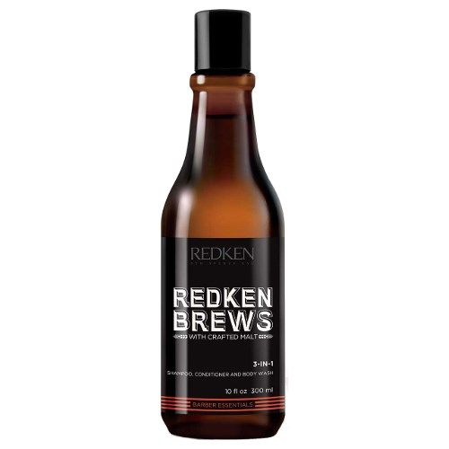 Redken Brews 3 In 1 Shampoo, Conditioner and Body Wash