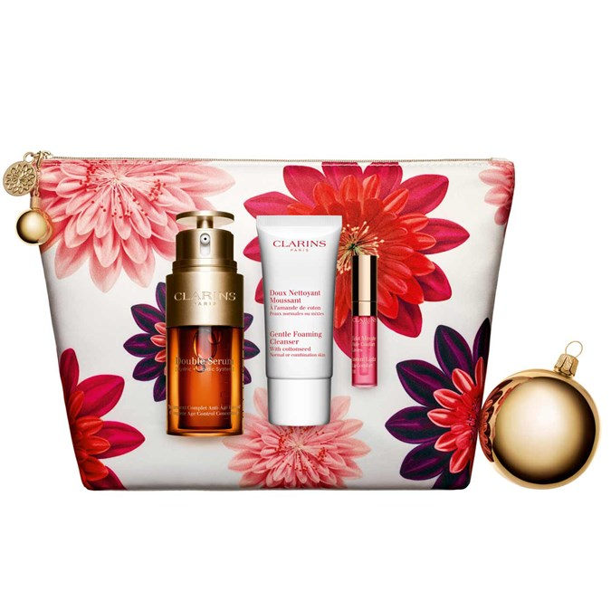 Christmas-Gift-Guide-100-Clarins Double Serum Collection Set