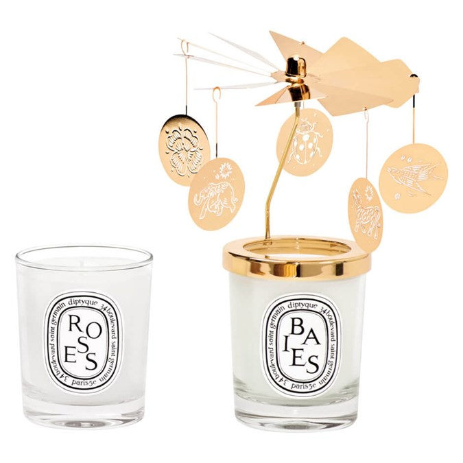 Christmas-Gift-Guide-100-Diptyque-Lucky-Charms-Carousel-and-Candle-Duo