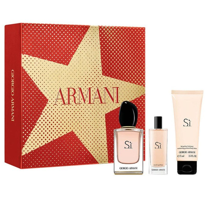 Christmas-Gift-Guide-100-Giorgio Armani Si EDP 50mL Gift Set