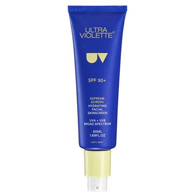 Best-Sunscreens-Ultra Violette Supreme Screen SPF 50+ Hydrating Facial Sunscreen