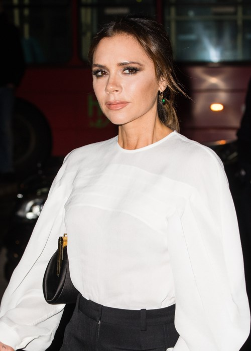 Victoria Beckham's Clever Makeup Trick For Fuller Lips Without Injections