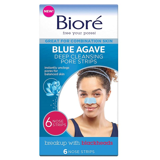 Bioré Blue Agave Deep Cleansing Pore Strips
