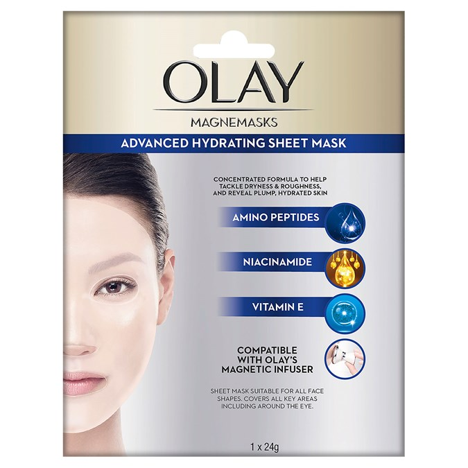 Olay Magnemasks Advanced Hydrating Sheet Mask