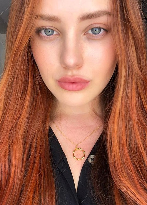 How To Look After Coloured Hair - Katherine Langford