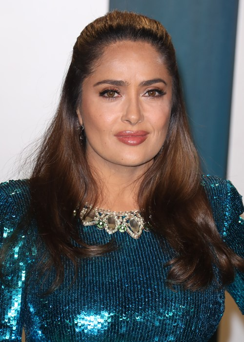 Salma Hayek Sets The Record Straight On Anti-Wrinkle Injections