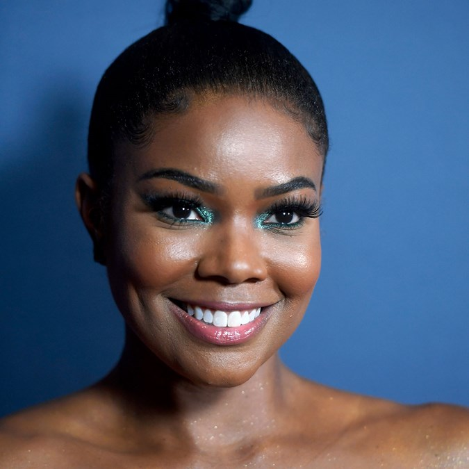 Glitter Makeup Looks - Gabrielle Union