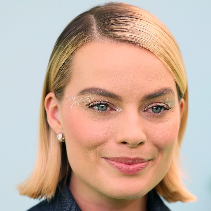 Glitter Makeup Looks - Margot Robbie