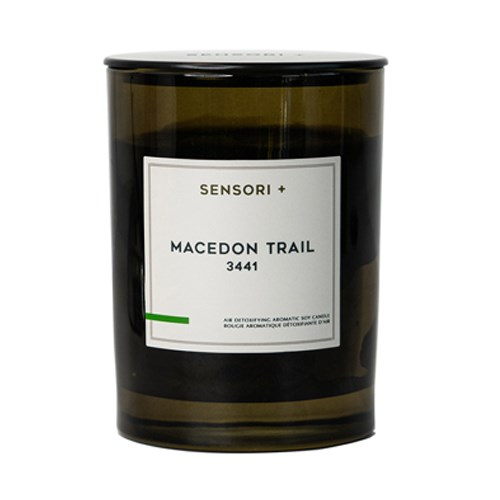 Sensori+ Air Detoxifying Aromatic Soy Candle Macedon Trail 3441