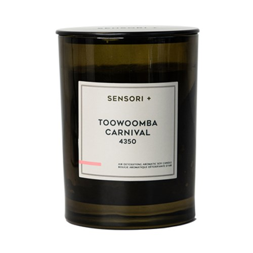 Sensori+ Air Detoxifying Aromatic Soy Candle Toowoomba Carnival 4350