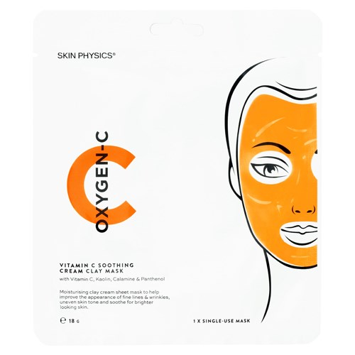 Skin Physics OXYGEN-C Vitamin C Soothing Clay Cream Mask