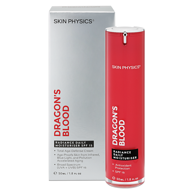 Skin Physics Dragon's Blood Radiance Daily Moisturiser SPF 15
