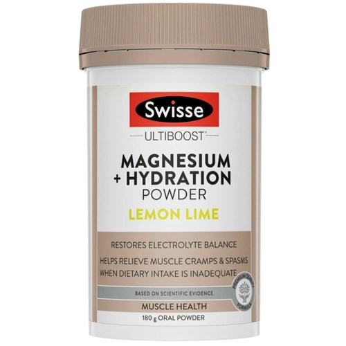 Swisse Ultiboost Magnesium + Hydration Powder