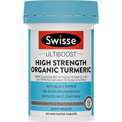 Swisse Ultiboost High Strength Organic Turmeric