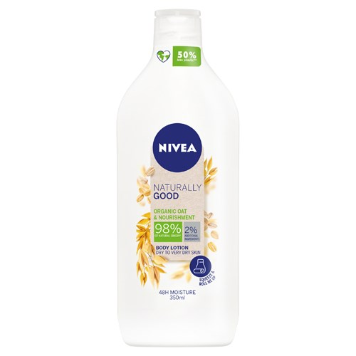 NIVEA Naturally Good Natural Organic Oat & Nourishment Body Lotion