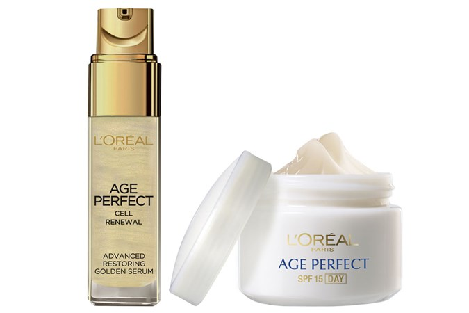 L'Oréal Paris Age Perfect Serum and Moisturiser SPF15