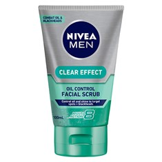 NIVEA MEN Clear Effect Oil Control Facial Scrub