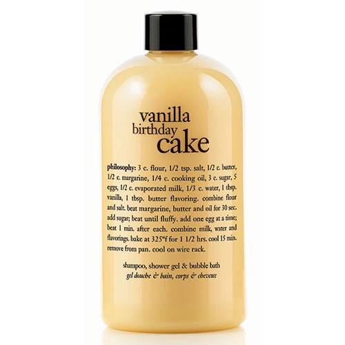 Philosophy Vanilla Birthday Cake Shampoo Bath And Shower Gel Is A Rich Hair Skin That Smells Like Freshly Baked