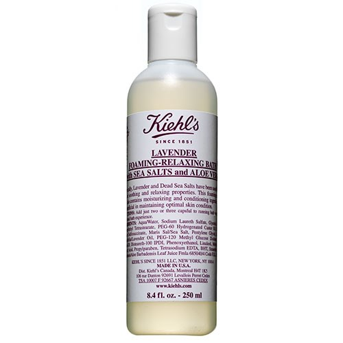 Kiehl's Lavender Foaming-Relaxing Bath with Seas Salts and Aloe Vera