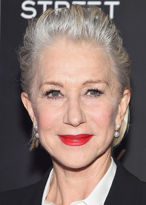 Makeup How To Helen Mirren Red Lip Look Beauty Crew