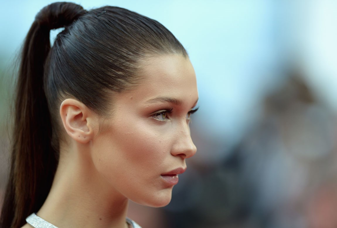 How To Copy Bella Hadid's Cannes Ponytail | BEAUTY/crew