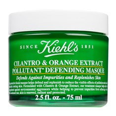 Kiehl's Cilantro and Orange Extract Pollutant Defending Masque