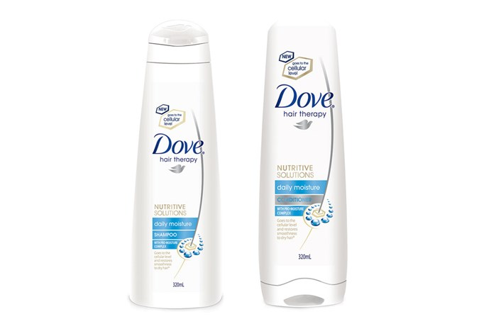 Dove Hair Therapy Daily Moisture Shampoo and Conditioner